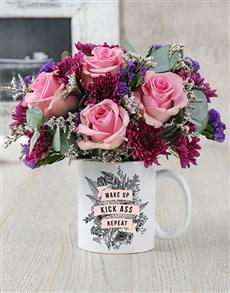 flowers: Kick Ass Mug!