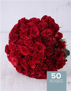 flowers: Spectacular Red Rose Bouquet!