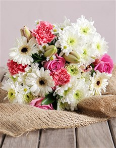 flowers: Mixed Delight Bouquet!