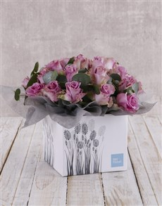 flowers: Whimsical Roses in Fountain Box!
