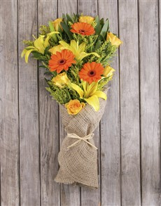 flowers: Sunshine Mixed Flower Bouquet!