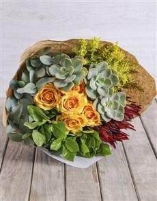 flowers: Spikey Mixed Bouquet!