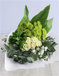 flowers: Go Green Bouquet!
