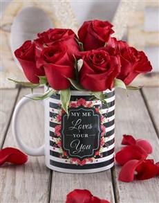 flowers: Red Rose Love Mug!