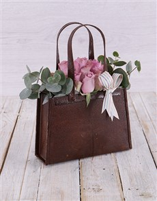 gifts: Purple Rose Handbag!
