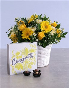 flowers: Cheerful Congrats Combo!