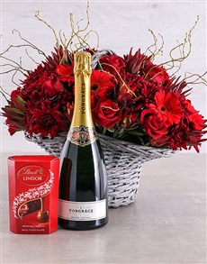 flowers: Splendid Rose, Pongracz and Lindt Hamper!