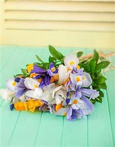 flowers: Mixed Iris Bouquet!