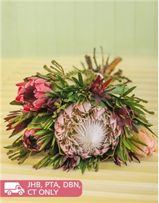 flowers: Mixed Bouquet of Proteas!