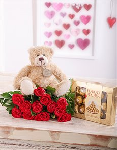 flowers: Romantic Rose Combo!