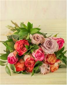 flowers: Kenyan Premium Mixed Rose Bouquet!