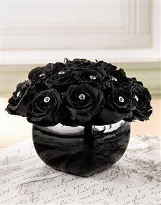 flowers: Black Magic Rose Arrangement!