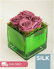 flowers: Blushing Love Rose Arrangement!