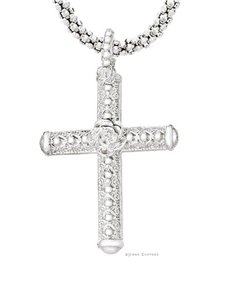 jewellery: Jenna Clifford Mercina Cross with chain !