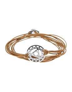 jewellery: Throat Chakra Symbol Bracelet!