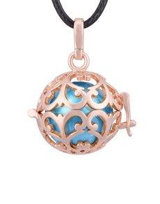 jewellery: Shiroko Harmony Round Cage Pendant!