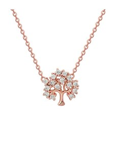jewellery: Silver Cubic Tree of Life RG Necklace!