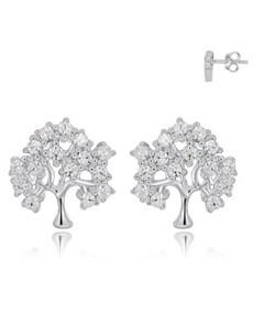 jewellery: Silver Tree of Life Stud Earrings!