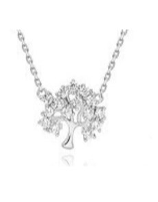 jewellery: Silver Tree Of Life 45cm Necklace!