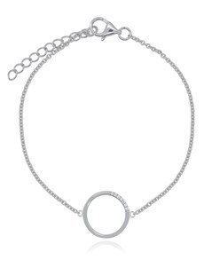 jewellery: Silver Circle of Life Bracelet!