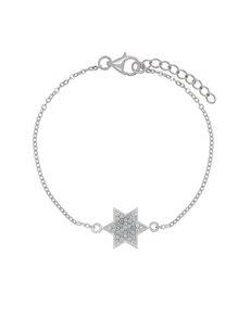 jewellery: Sterling Silver Cubic Star Bracelet!