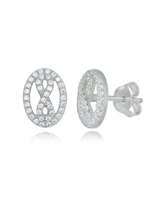 jewellery: Sterling Silver Open Heart and Infinity Studs!