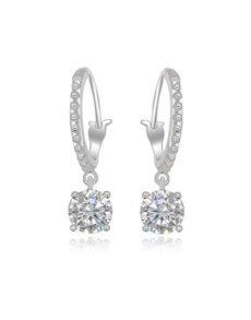 gifts: Sterling Silver Cubic Hoop Earrings!