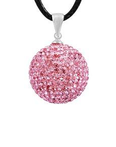 jewellery: Shiroko Harmony Pink Crystal Pendant!