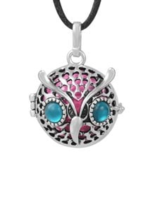 jewellery: Shiroko Harmony Bell Owl Necklace!