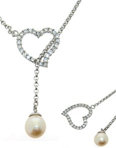 jewellery: Silver Fresh Water Pearl Necklace NJJT001!