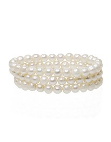 jewellery: Fresh Water White 7mm Pearl 3 x Bracelet Set!