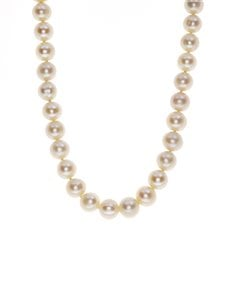jewellery: Fresh Water White 8mm Pearl Necklace!