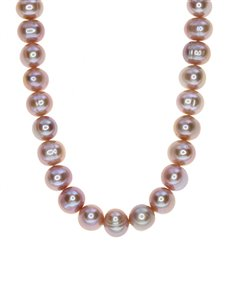 jewellery: Fresh Water 9mm Pink Pearl Necklace!