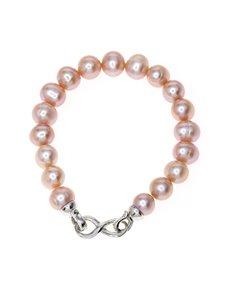 jewellery: Fresh Water 10mm Pink Pearl Bracelet!