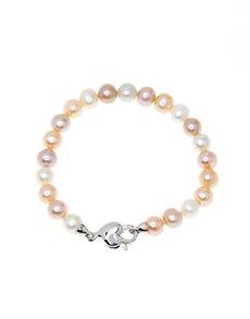 jewellery: Fresh Water 8mm Pastel Colour Pearl Bracelet!