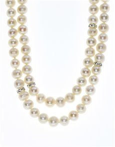 jewellery: Fresh Water 7mm White Pearl Necklace!
