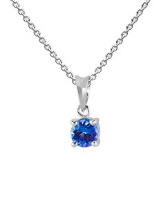 jewellery: Sterling Silver Tanzanite Necklace!