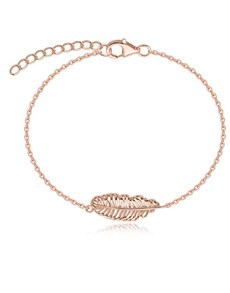 gifts: Rose Gold Feather Bracelet!