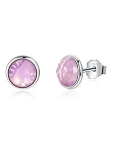 gifts: Pink Bezel Stud Earrings!