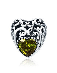 gifts: Brown Filigree Heart Charm!