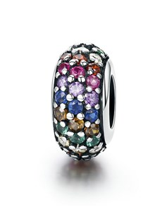 gifts: Multicoloured Spacer Charm!