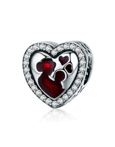 gifts: Mother and Child Heart Charm!