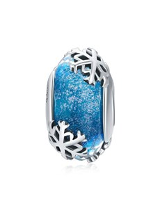 gifts: Blue Snow Spacer Charm!