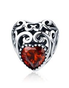 gifts: January Birthstone Heart Charm!