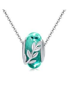 gifts: Aqua Leaf Spacer Charm!