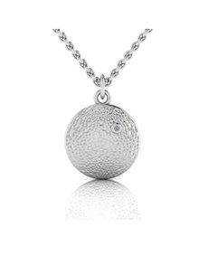 jewellery: WHY Sterling Silver Diamond Pendant!