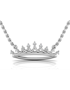 jewellery: WHY Sterling Silver Diamond Necklace NJWN007!
