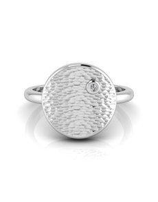 jewellery: WHY Sterling Silver Diamond Ring NJWR001!