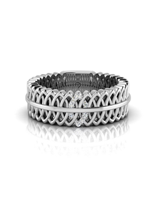 jewellery: WHY Sterling Silver Diamond Ring NJWR019!