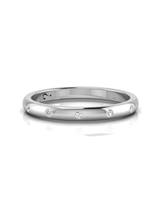 jewellery: WHY Sterling Silver Diamond Ring NJWR037!